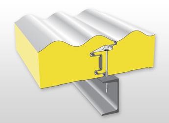 Stěnový izolační panel PUR / PIR W06