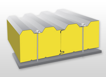 Stěnový izolační panel PUR / PIR W08