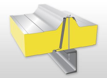 Střešní izolační panel PUR / PIR R03