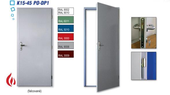 protipožární dveře a zárubně